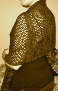 shawl side tuck