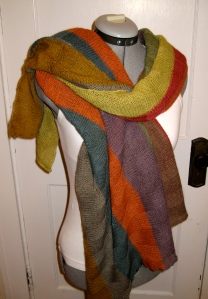 Colors scarf wrap