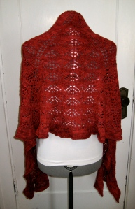 Red Shawl back2