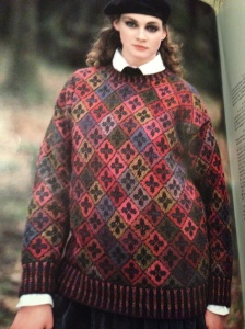 Kells sweater by Alice Starmore, as seen on page 50 of The Celtic Collection.